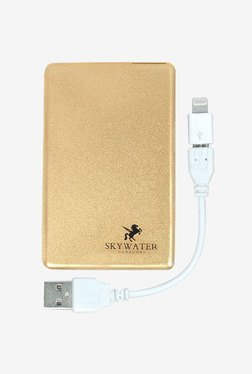 Skywater SW-222 2300 mAh Credit Card Power Bank (Gold)
