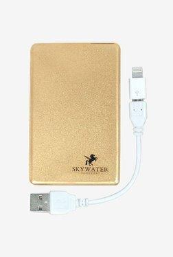 Skywater SW-222 2300 MAh Credit Card Power Bank (Gold)