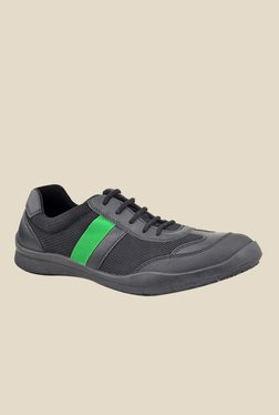 FeetScience Champion Green & Black Casual Shoes