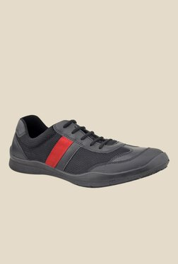FeetScience Champion Red & Black Casual Shoes