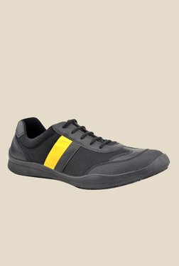 FeetScience Champion Yellow & Black Casual Shoes