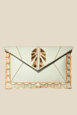 Rossoyuki Off-white Envelope Clutch