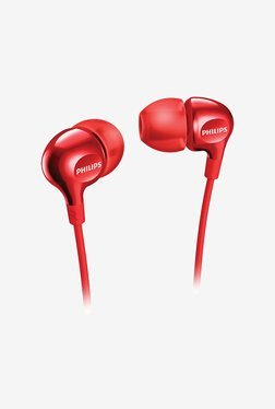Philips SHE3700 In Ear Wired Headphone (Red)