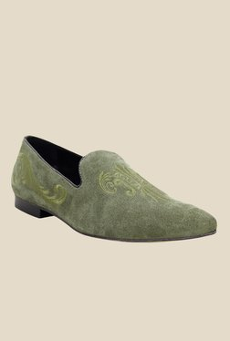 Hats Off Accessories Green Casual Loafers
