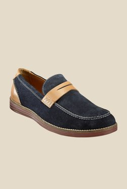 Hats Off Accessories Navy & Tan Loafers