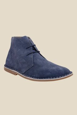Hats Off Accessories Navy Desert Boots