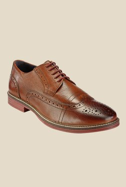 Hats Off Accessories Brown Brogue Shoes