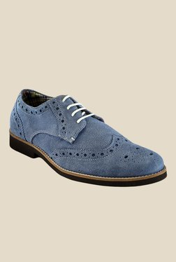 Hats Off Accessories Blue Brogue Shoes