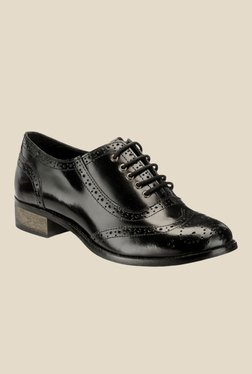 Hats Off Accessories Black Brogue Shoes