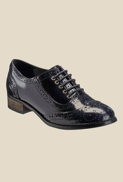 Hats Off Accessories Navy Blue Brogue Shoes