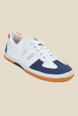 Yepme White & Blue Sneakers