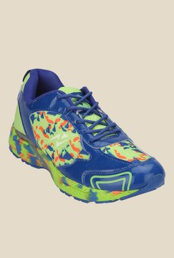Yepme Green & Blue Running Shoes