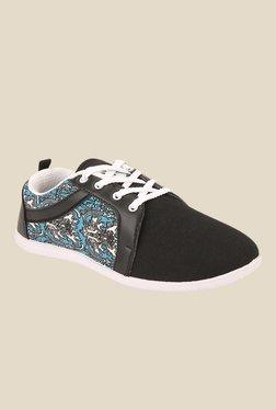 Yepme Black & Blue Sneakers