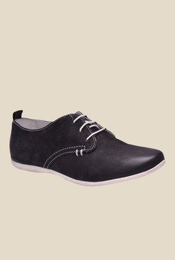 Enzo Cardini Black Derby Shoes