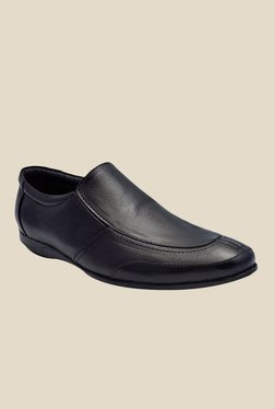 Enzo Cardini Black Formal Slip-Ons