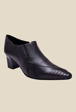 Enzo Cardini Black Formal Shoes