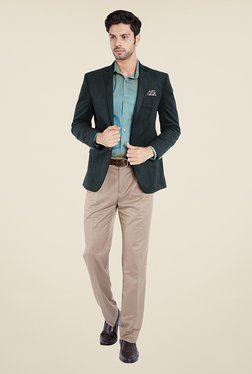Park Avenue Teal Solid Jacket