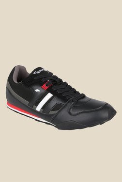 Fsports Element Black & Red Cricket Shoes