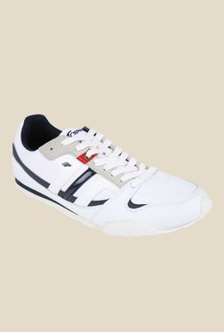 Fsports Element White & Navy Cricket Shoes