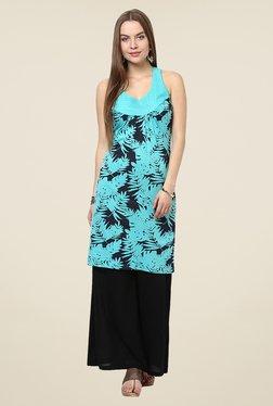 Yepme Caroline Turquoise Printed Tunic