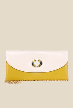Esbeda Yellow Synthetic Clutch