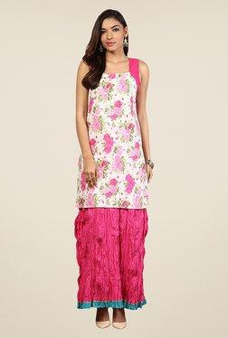 Yepme Rachel Pink Solid Skirt