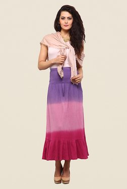 Yepme Reese Purple & Pink Ombre Skirt