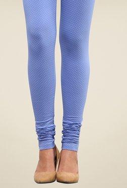 Yepme Alexis Blue Polka Dot Leggings