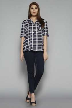 Gia by Westside Navy Luca Blouse