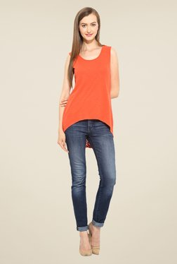Free & Young Orange Solid Top