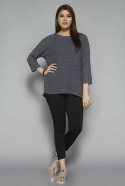 Gia by Westside Grey Sia Top