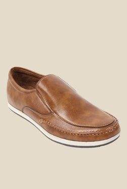Amigos Brown Casual Slip-Ons
