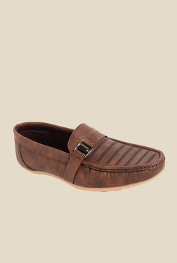 Amigos Brown Casual Loafers
