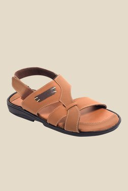 Amigos Tan Back Strap Sandals
