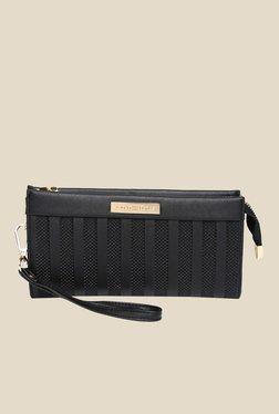 Addons Black Textured Wallet