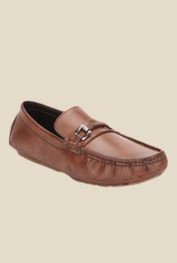 San Frissco Brown Casual Loafers