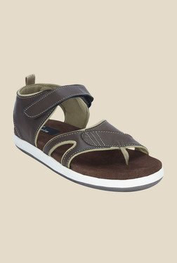 Kielz Brown Floater Sandals