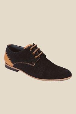 San Frissco Black Derby Shoes