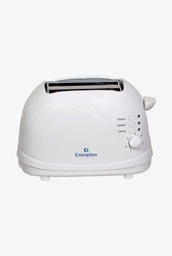 Crompton Greaves CG-PT23-I Pop Up Toaster (White)