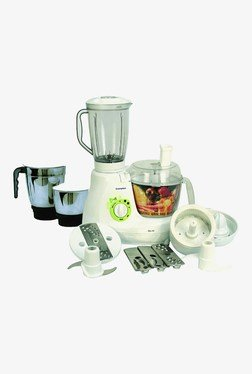 Crompton Greaves CG-FP 600 W Mixer Grinder (White)