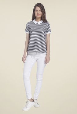 Vero Moda Black & White Striped Shirt