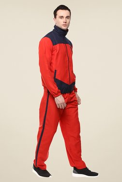 Yepme Steven Red Solid Tracksuit