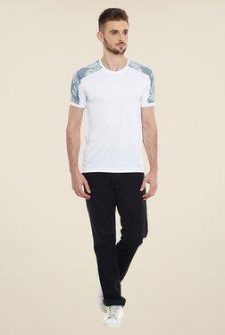 Yepme Dean White Printed T Shirt