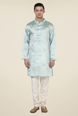 Yepme Wright Green Textured Kurta