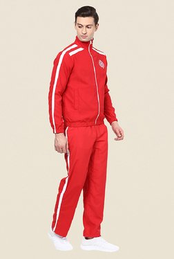 Yepme Lesnerd Red Solid Tracksuit