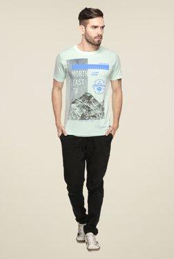 Mode Vetements Green Graphic Print T Shirt - Mp000000000749778