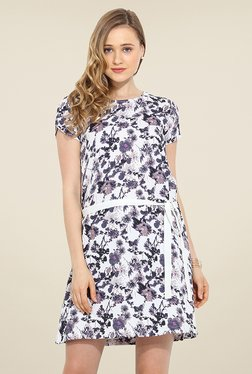 Trend Arrest White Floral Print Dress