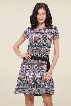 Trend Arrest Multicolor Aztec Print Dress