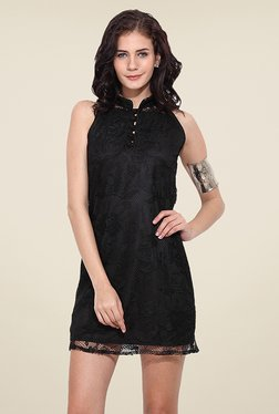 Trend Arrest Black Lace Dress