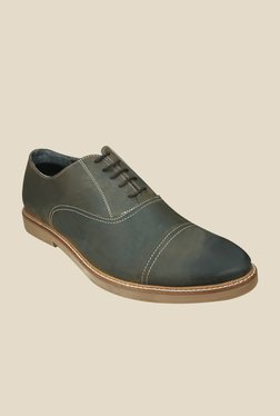 US Polo Assn. Dark Grey Oxford Shoes